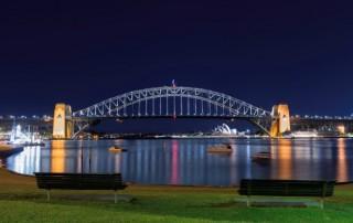 sydney harbour bridge blue's point