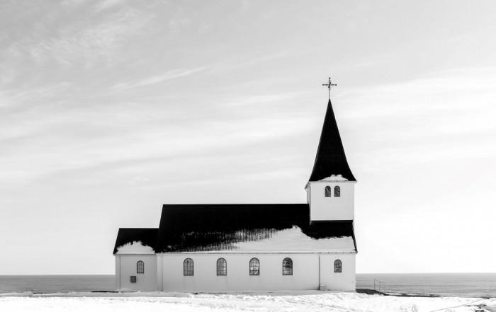 church-bw