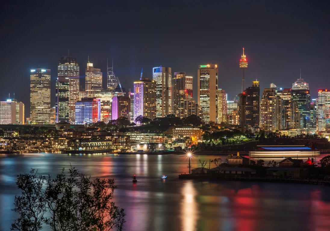 Sydney City from Waverton